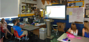 Promethean Board added to Ag Department