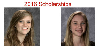 2016 Scholarships Announced