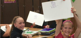 White Boards added to Jr. High Math