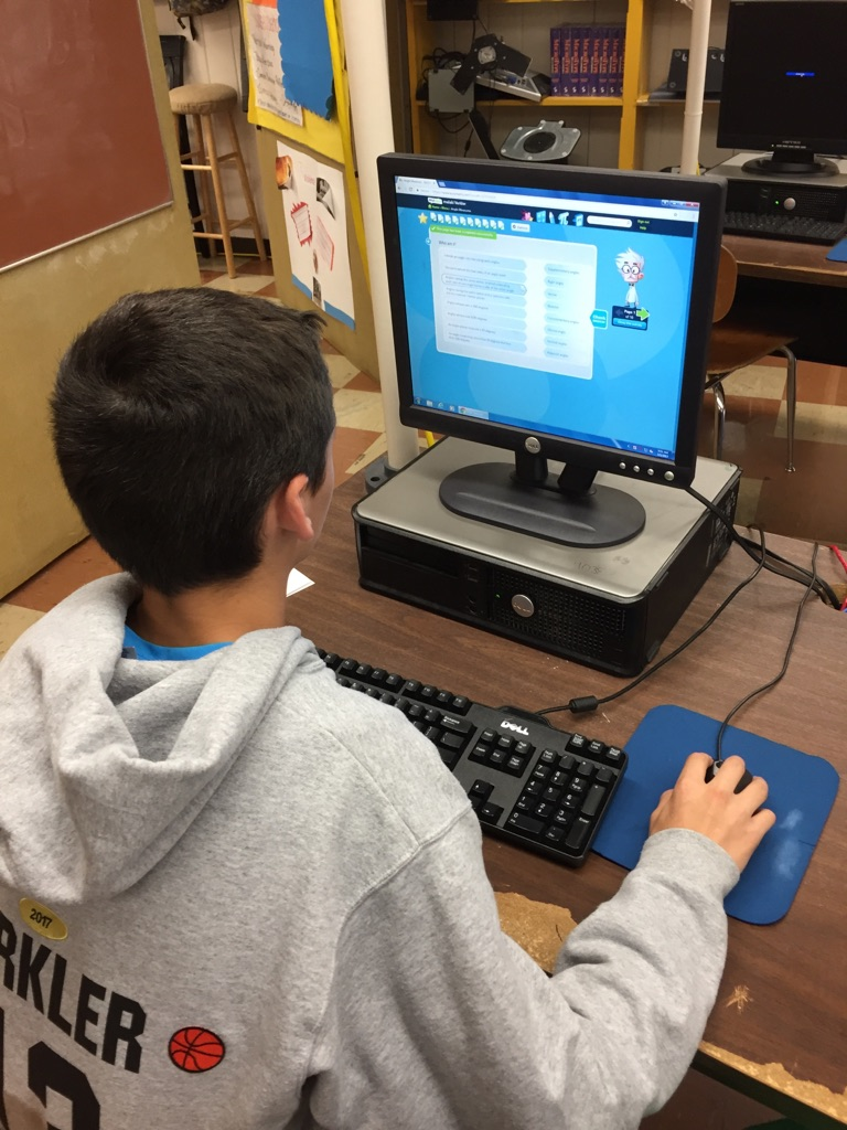 "BuzzMath"": Middle School Math Practice; Anytime, Anywhere 
